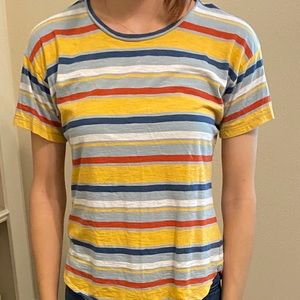 striped, comfy tee from madewell